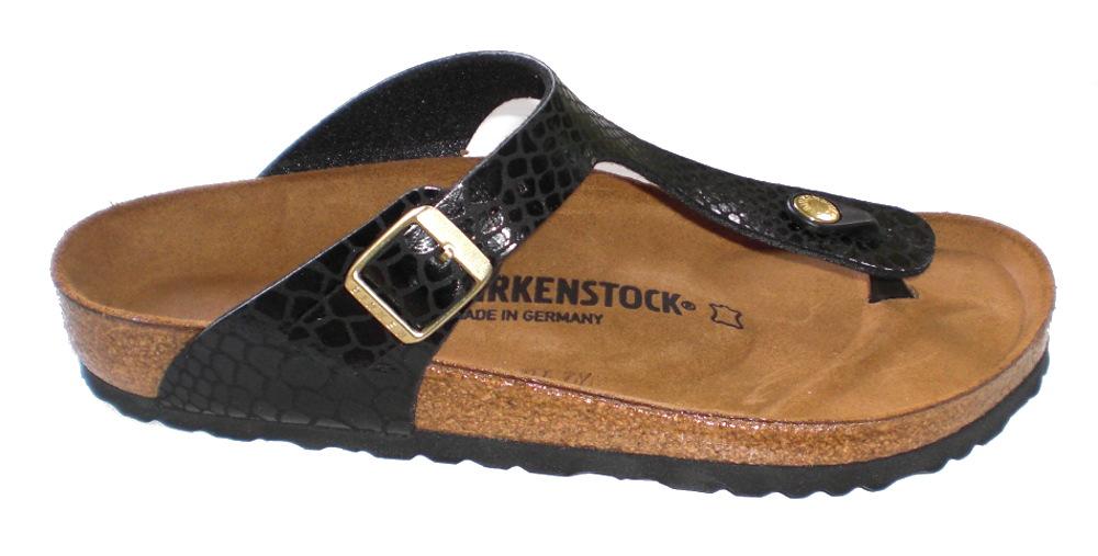 birkenstock gizeh bs sandalen pantoletten 1004274 shiny. Black Bedroom Furniture Sets. Home Design Ideas