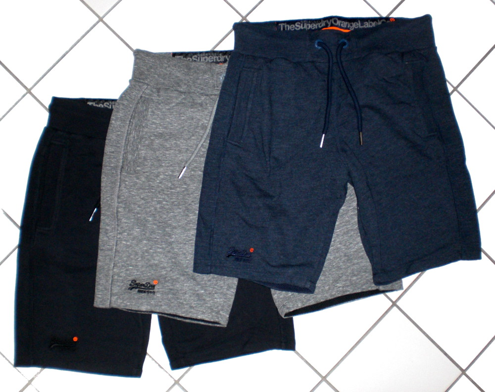 superdry lite moody shorts kurze bermudas hose pants sweatpants neu m l xl xxl. Black Bedroom Furniture Sets. Home Design Ideas